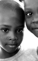 Haitian Boy and Girl (Mombin Crochu, Haiti; March 2016)