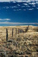 Fence and Sky (West Texas)
