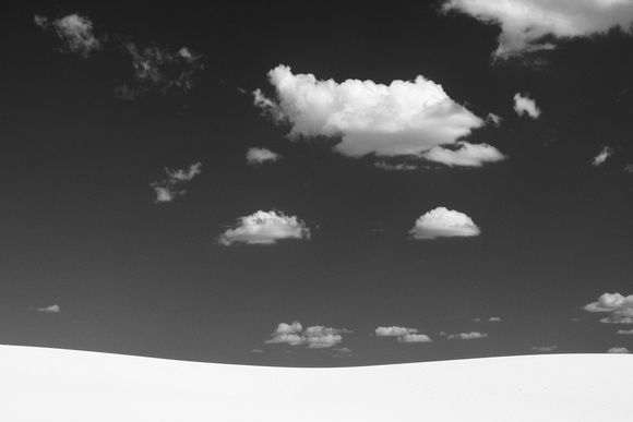Sky and Sand (White Sands Nat'l Monument)