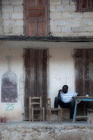 Man Sitting (Mombin Crochu, Haiti; June 2012)